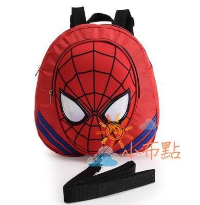 防走失包兒童蜘蛛俠3D立體防走失包包寶寶書包 防走失帶卡通背包防走丟包全館免運