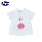 chicco-花語-立體花朵短袖上衣