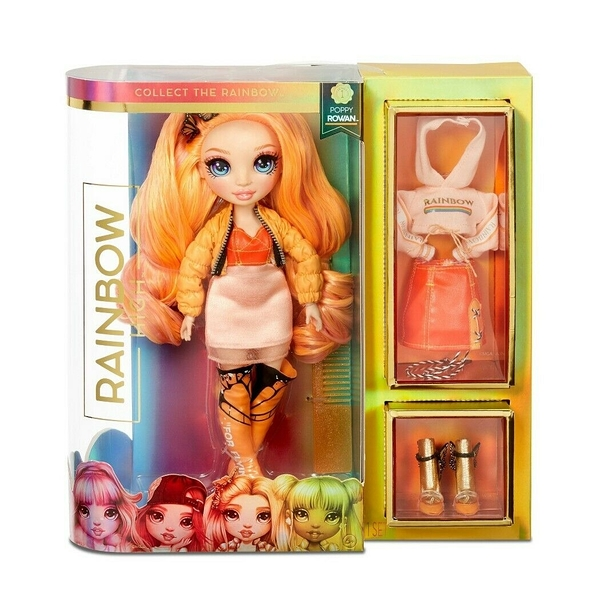 《 Rainbow Surprise 》 七彩時尚娃娃-Poppy / JOYBUS玩具百貨