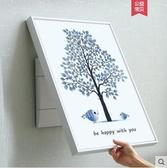 電錶箱裝飾畫豎款開箱開關電錶盒-大號愛情樹