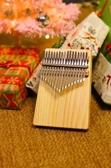 拇指琴宋小小北美松木板式初學者女生男生小眾樂器便攜卡林巴手琴 星河光年