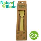 【Natural Made】 環保玉米餐具 - 湯匙-2入組 14x3x2cm