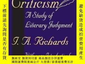 二手書博民逛書店Practical罕見Criticism-實用批評Y436638 I. A. Richards Transac