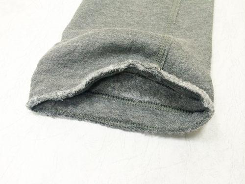 Hollister HCO  經典LOGO立體英文貼布不修邊綁帶男款棉長褲-灰