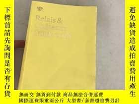 二手書博民逛書店Relais罕見Chateaux Guide 2018Y1353
