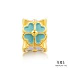 四葉幸運草 凝聚希望幸運 商品材質:足金 黃金總重量:共約0.049兩