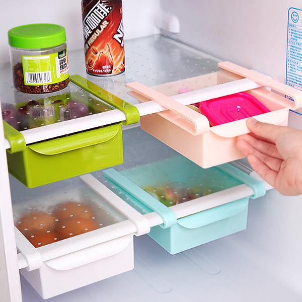 【BlueCat】第二代升級版不透明冰箱保鮮抽拉式塑膠置物盒