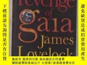 二手書博民逛書店英文原版罕見《 The Revenge of Gaia 》 Ja