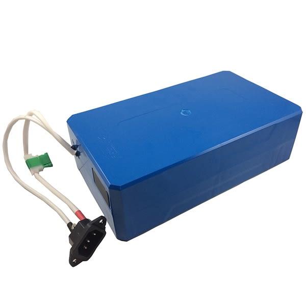 超威 鋰電池 48V 12Ah 電動車 電動腳踏車 電池 鋰三元 兩年保固【康騏電動車】