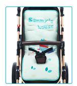 嬰兒手推車棉墊好孩子寶寶好推車墊高景觀睡籃推車純棉通用墊子冬