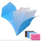 A4風琴包-實用大容量多夾層分類文件袋 風琴包 資料夾 文件夾 檔案夾【AN SHOP】