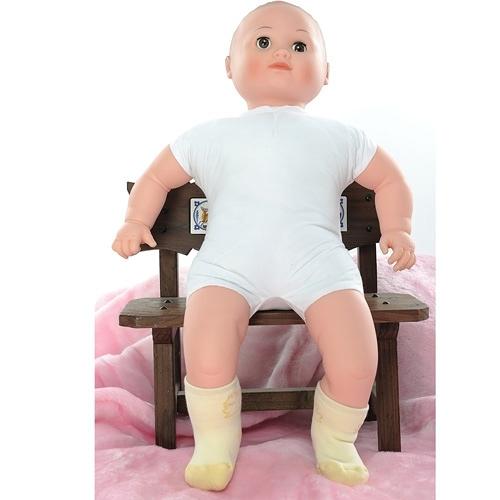 【南紡購物中心】【KEROPPA】MIT0~6個月嬰兒厚底止滑短襪x3雙(淺黃配黃)95001