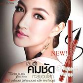 泰國 Mistine Super Black 眼線筆 紅管[TH885032311]千御國際