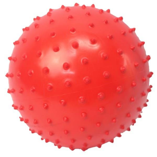 中型9吋 按摩球 17cm安全球 刺刺球/一個入{定60} 尖球 復健球 健身球 充氣球 訓練球~睿009 YF5247