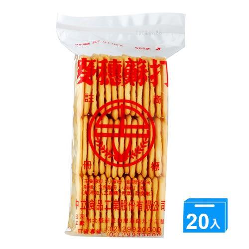 中立麥穗蘇打餅乾175G*20【愛買】