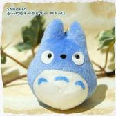 龍貓 TOTORO 2016 日本新品 造型鑰匙圈/包包吊飾 藍龍貓款 該該貝比日本精品 ☆