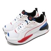 Puma 休閒鞋 X-Ray Game 白 藍 女鞋 復古慢跑鞋 老爹鞋 運動鞋 【ACS】 37284905