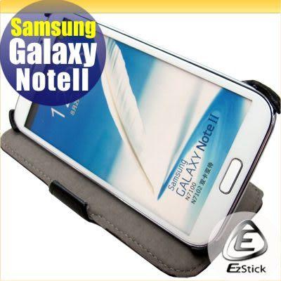【EZstick】SAMSUNG Galaxy NOTE 2 NOTE II N7100 N7102 專用皮套(頂級款式)(加碼送專用機身貼)
