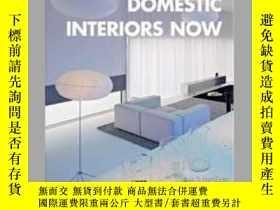 二手書博民逛書店Domestic罕見Interiors NowY405706 Carles Broto ISBN:97884