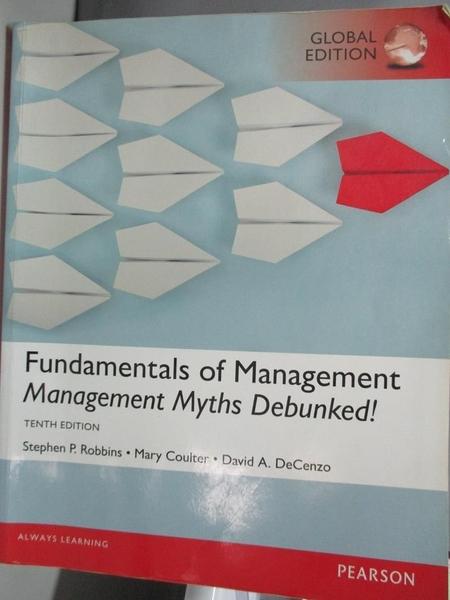【書寶二手書T1/財經企管_DMQ】Fundamentals of...-Management Myths...(GE) 10/e