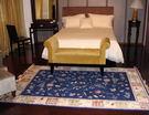 【范登伯格】芭比佳人滑順絲質感地毯-童話故事(藍款)160x230cm