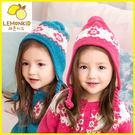 Lemonkid 檸檬寶寶 簡約花朵羊毛帽護耳帽 27019