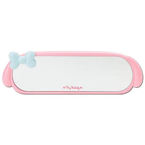 【震撼精品百貨】My Melody 美樂蒂~美樂蒂車用大後照鏡(藍緞帶)