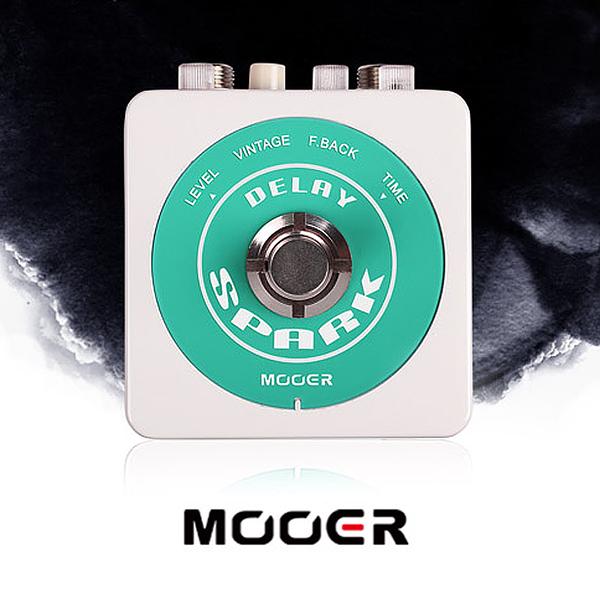 小叮噹的店- MOOER【Spark系列】Spark Delay 模擬延遲、延時 單塊 效果器 (MREG-SDL)