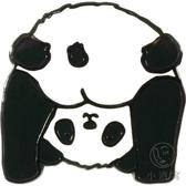 熊貓創意禮品徽章趣味原創胸針可愛搞怪撅屁股熊貓【小酒窝服饰】