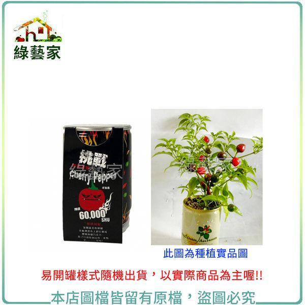 【綠藝家】iPlant易開罐花卉-櫻桃辣椒