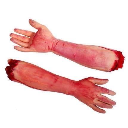 【發現。好貨】整人玩具鬼怪成人斷手臂 仿真乳膠斷臂手 恐怖斷手道具 萬聖節道具