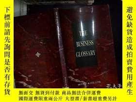 二手書博民逛書店THE罕見BUSINESS GLOSSARYY180897