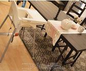 寶貝餐桌椅 宜家兒童餐椅寶寶餐椅便攜式可堆疊寶寶吃飯椅非實木可拆卸 DF   免運 維多
