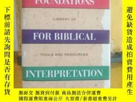 二手書博民逛書店Foundations罕見For Biblical Interp