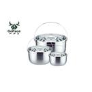 【山林者】三件式不銹鋼鍋子組 GP-17641