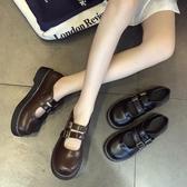 娃娃鞋 森女系小皮鞋女英倫復古韓版百搭jk制服鞋可愛軟妹瑪麗珍鞋chic潮 - 古梵希
