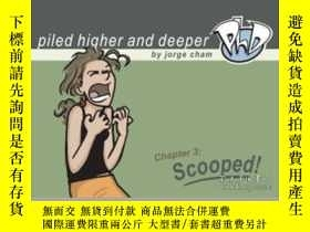 二手書博民逛書店Scooped!罕見The Third Piled Higher And Deeper Comic Strip C