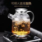 玻璃冷水壺家用耐高溫防爆晾涼白開水杯檸檬冰水瓶夏天涼茶泡茶壺 熊貓本
