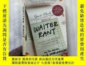 二手書博民逛書店Waiter罕見Rant:thanks for the tip-