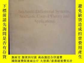 二手書博民逛書店隨機微分系統和隨機控制論及應用罕見英文版7815 George