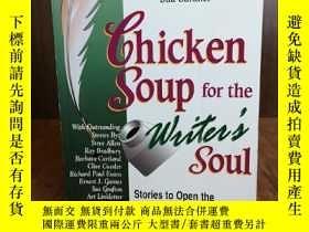 二手書博民逛書店Chicken罕見Soup for the Writer s S
