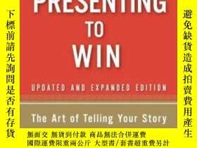二手書博民逛書店Presenting罕見To Win: The Art Of T