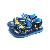 G.P(GOLD PIGEON) 涼鞋 防水 雨天 藍色 長頸鹿 中童 童鞋 G9214BB-20 no979