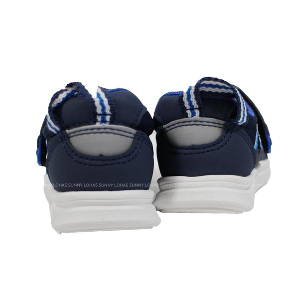 (B8) IFME 日本機能童鞋 Light 護踝 超Q底 學步鞋 IF20-080411 深藍 [陽光樂活]