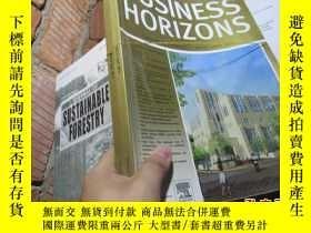 二手書博民逛書店business罕見horizons volume 57 num