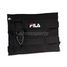 Fila 斜背包 Workwear Shoulder Bag 黑 白 男女款 工裝 側背包 運動休閒【ACS】 BMV3007BK