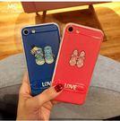 【SZ22】iPhone6s plus手機殼 鏤空透氣卡通 散熱網格 隱形支架 iPhone6 手機殼