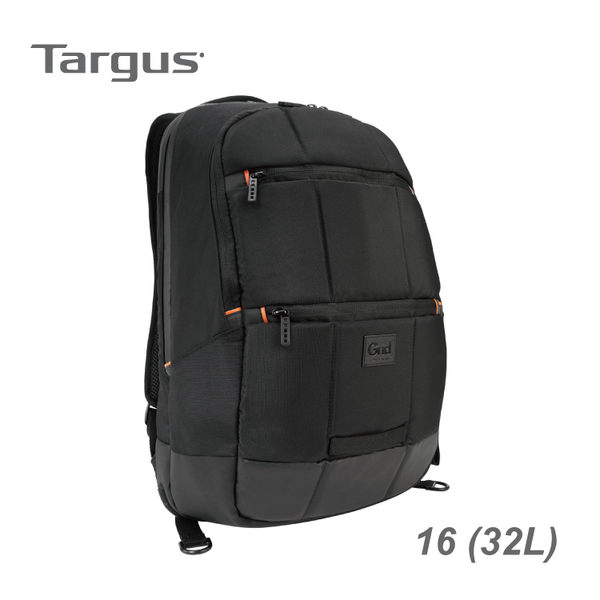 【加也】Targus Grid™ Advanced 黑盾 II 16 吋電腦後背包 (32L) 筆電包 電腦包