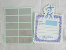 【震撼精品百貨】Sanrio 天使鹿~可刮式便條紙