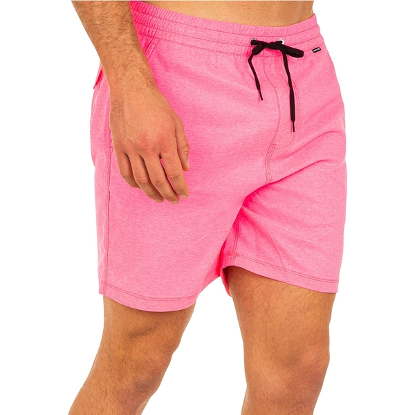 Hurley OAO CROSSDYE VOLLEY 17 海灘褲-粉